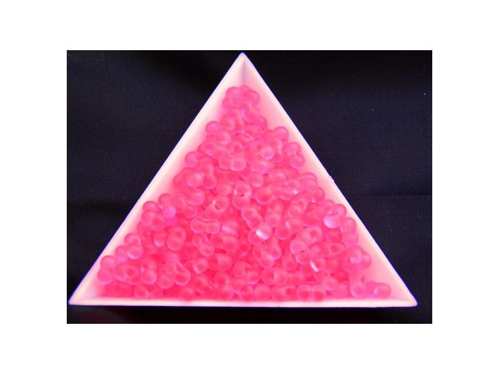 Korálky - farfale NEON růžové 38777