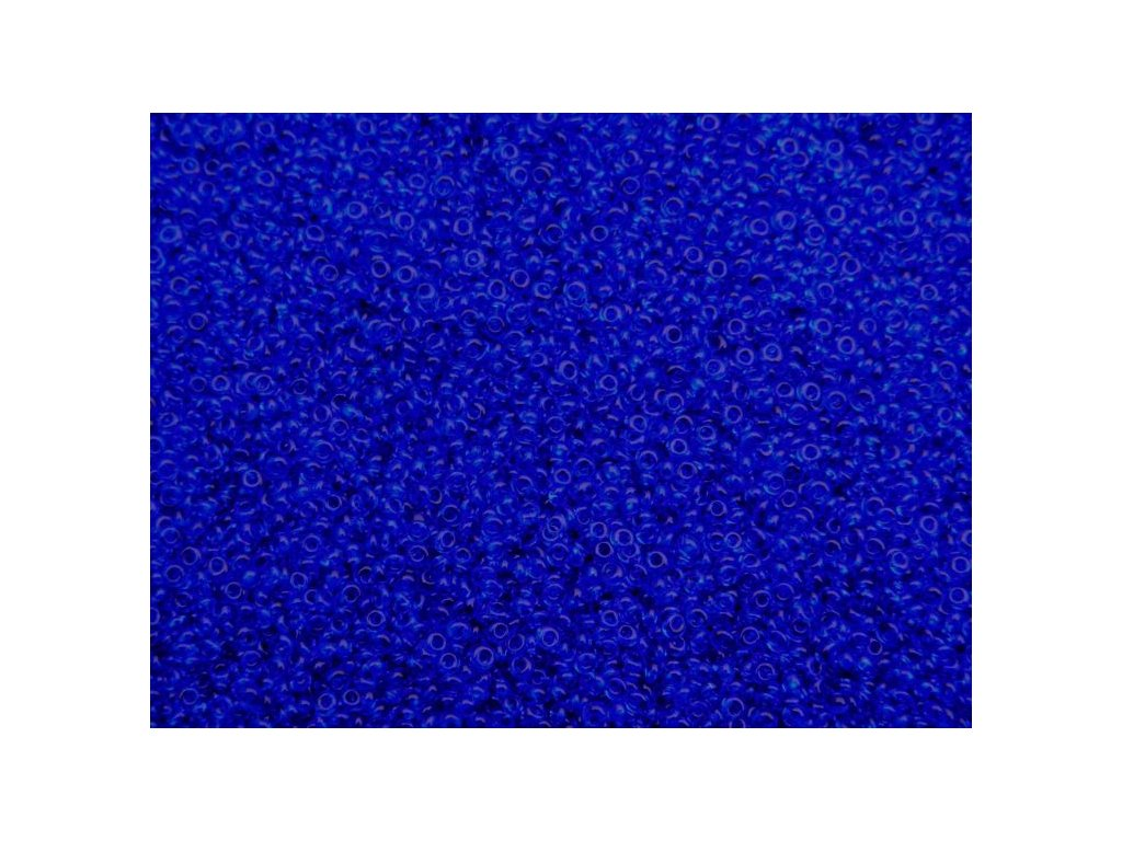Korálky - rokajlové dropsy modré 60300 8/0