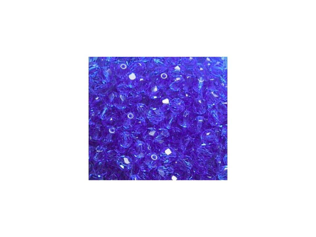 Korálky broušené - ohňovka 6 mm 30050