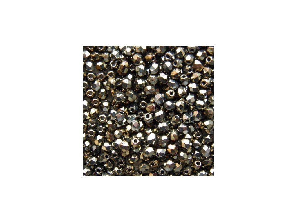 Korálky broušené - ohňovka 6 mm 23980/23601