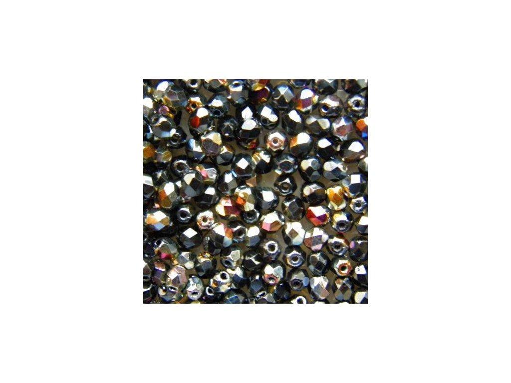 Korálky broušené - ohňovka 3 mm 23980/91401