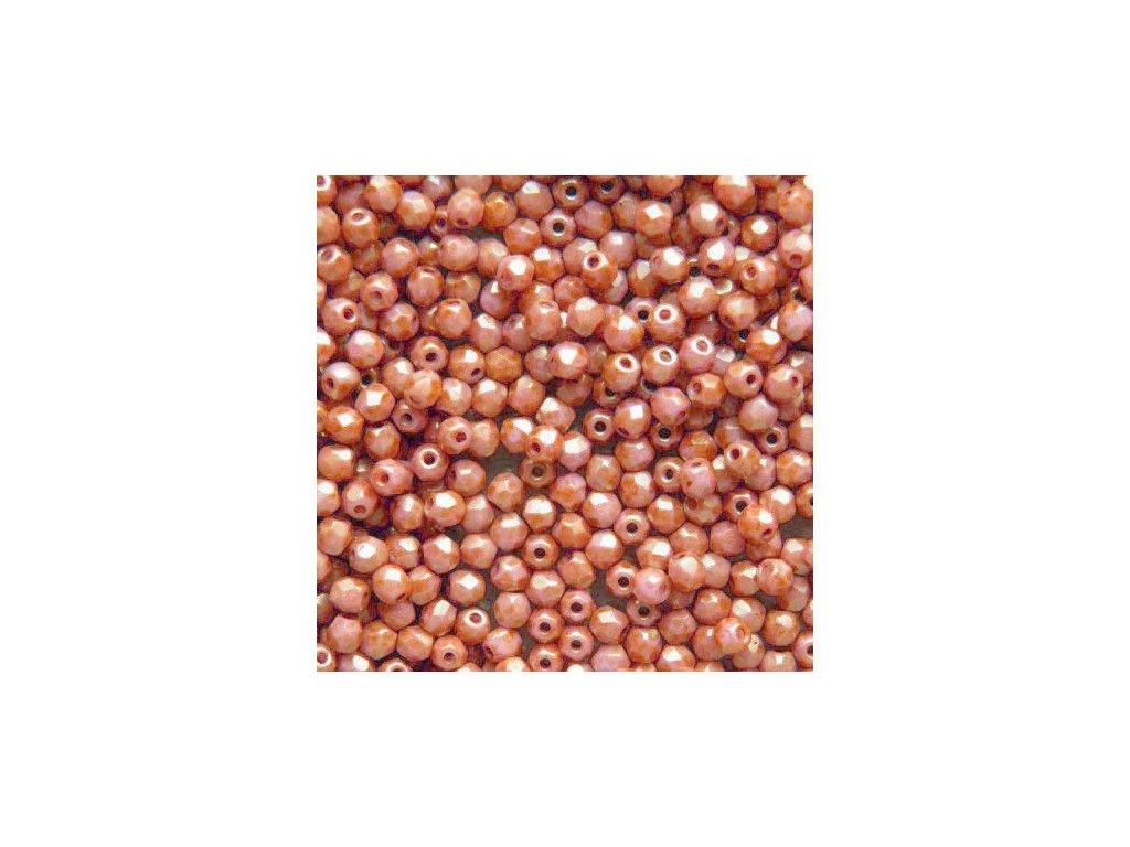 Korálky broušené - ohňovka 3 mm 73020/15495