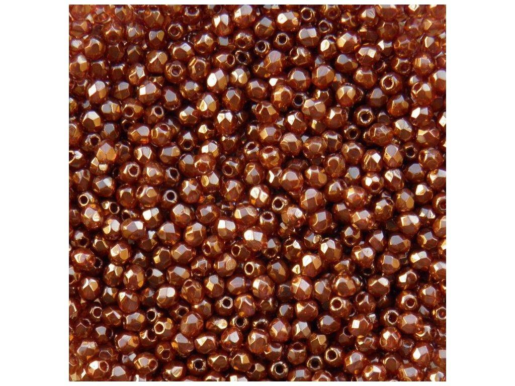 Korálky broušené - ohňovka 3 mm LZ10070