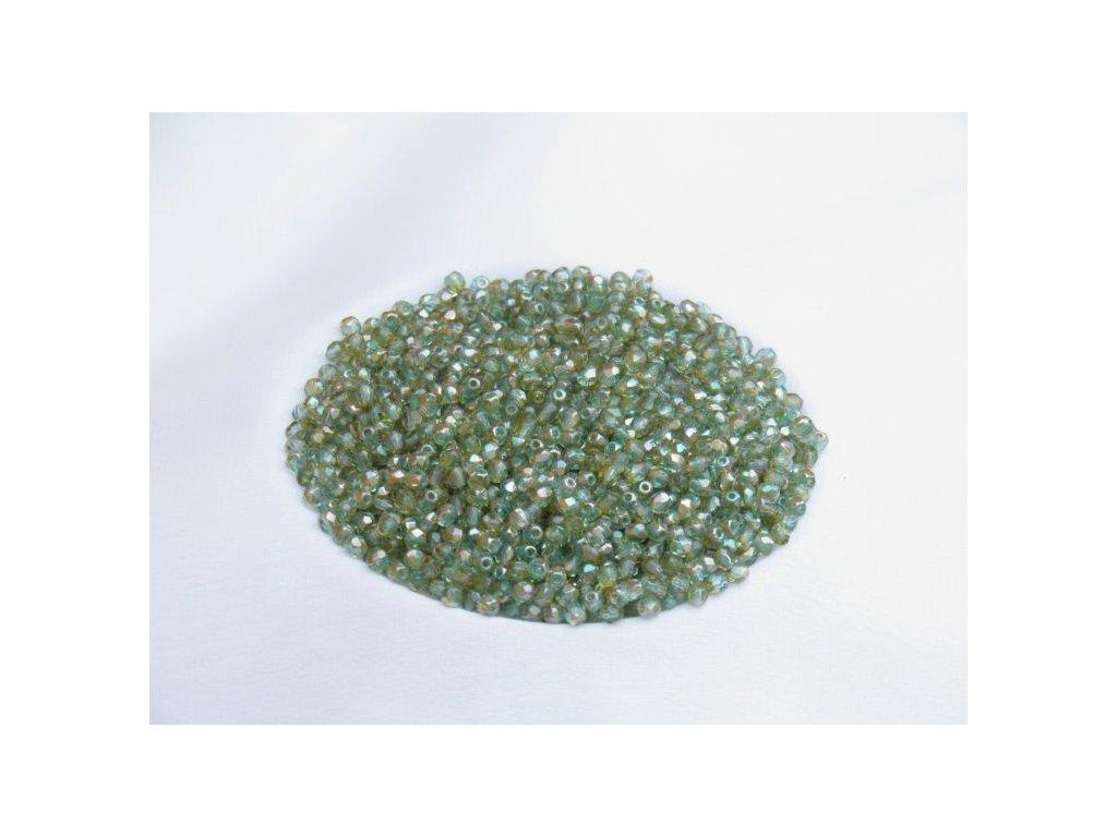 Korálky broušené - ohňovka 3 mm 60010/22501