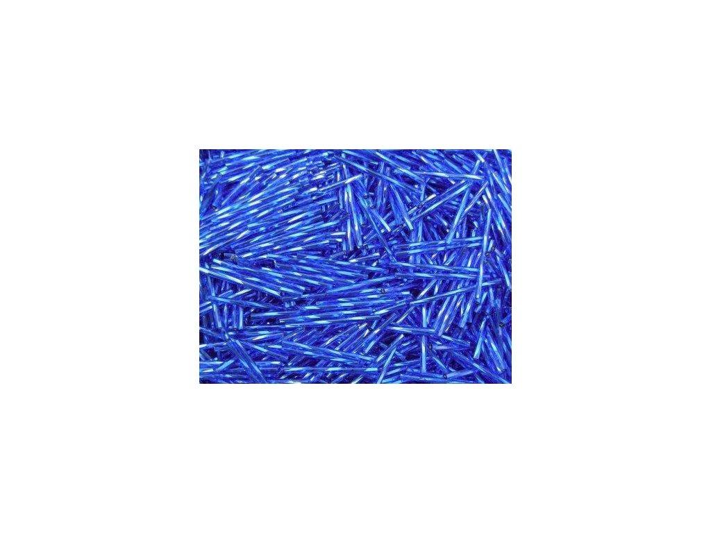 Korálky - rokajlové tyčky 15 mm - modrá 37050 (T66)
