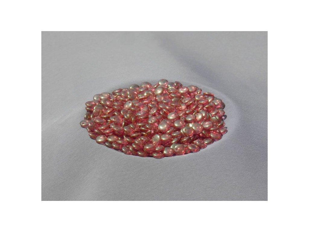 Korálky mačkané - čočka 6 mm - 00030/14497