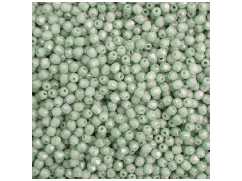 Korálky broušené - ohňovka 3 mm 03000/14457