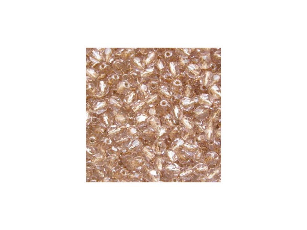 Korálky broušené - ohňovka 3 mm 00030/68106