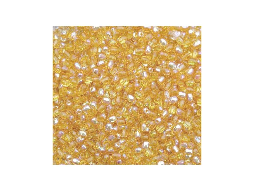 Korálky broušené - ohňovka 3 mm 10060/28701