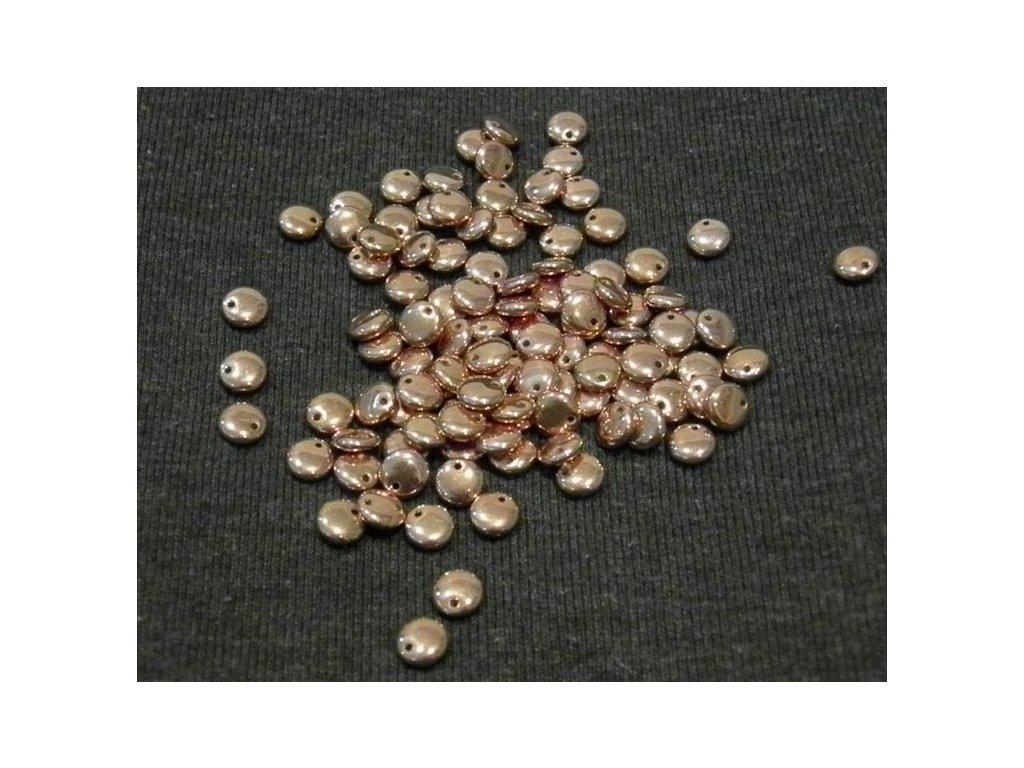 Korálky mačkané - čočka 6 mm - 00030/27100