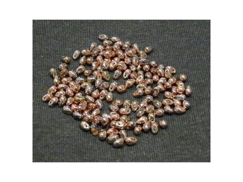 Korálky mačkané - kapka 4/6 mm - 00030/27100