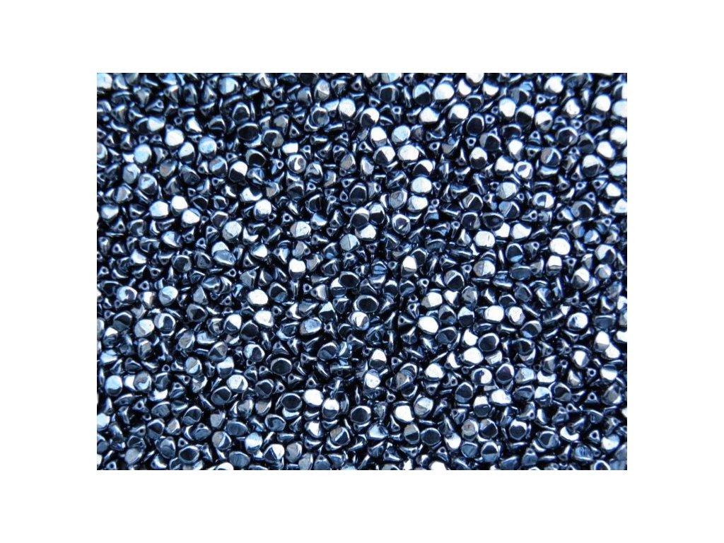 Korálky mačkané - pohanka 23980/14400 hematit