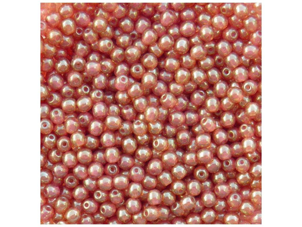 Korálky mačkané - kulička 4 mm - LK71010 - 20 ks