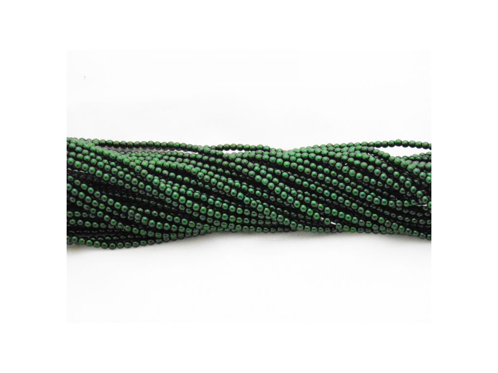 Korálky - voskované perle (12588) 5 mm