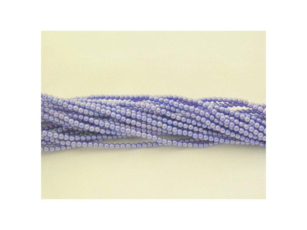 Korálky - voskované perle (17253) 6 mm