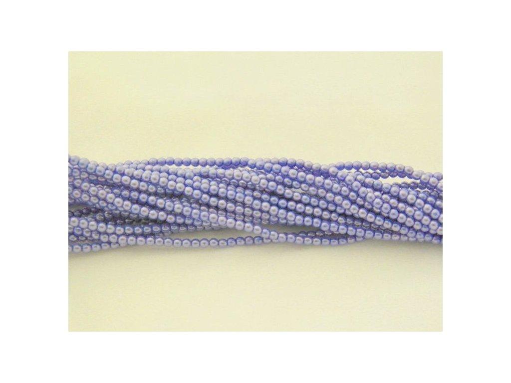 Korálky - voskované perle (17253) 3 mm