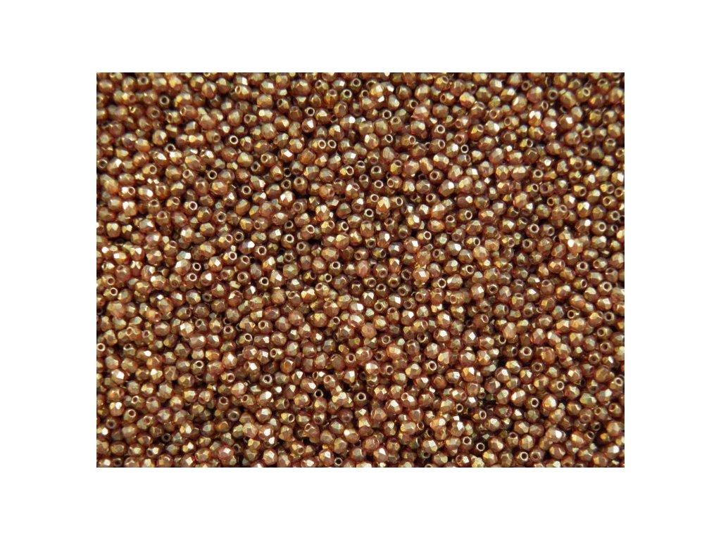 Korálky broušené - ohňovka 3 mm 00030/15695