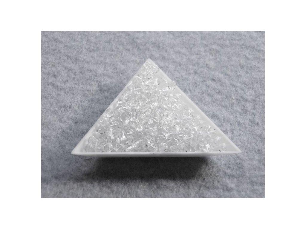 Korálky broušené - ohňovka 3 mm 00030