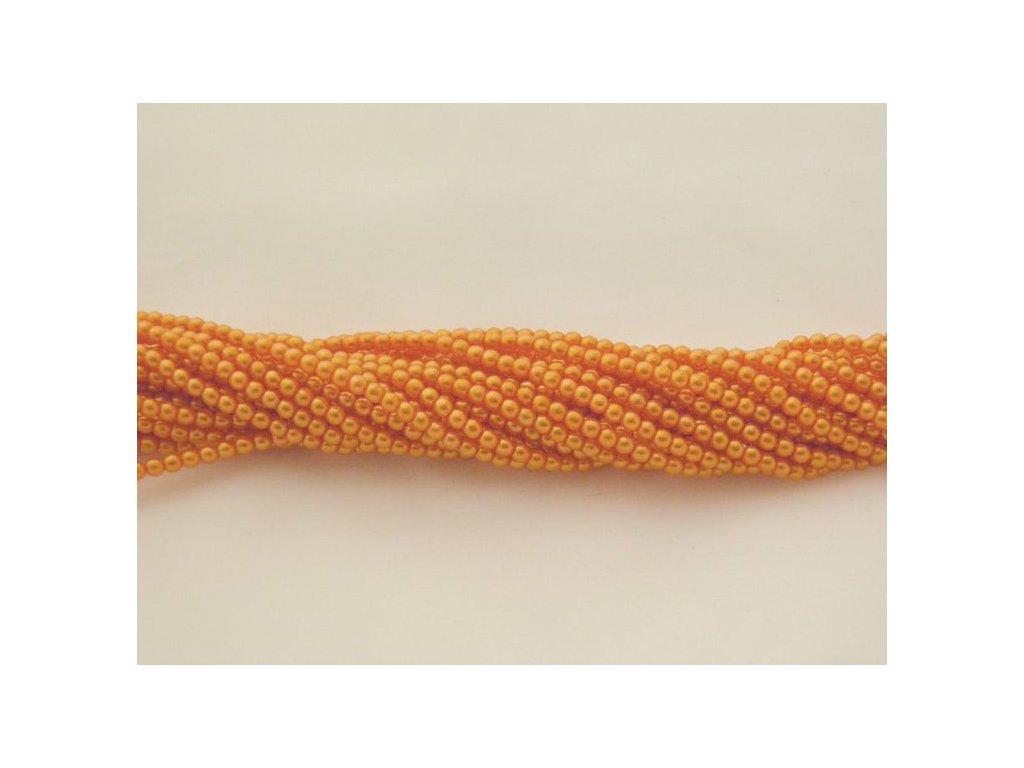 Korálky - voskované perle (12868) 6 mm