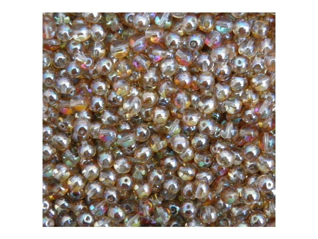 Korálky mačkané - kulička 4 mm - 00030/22501