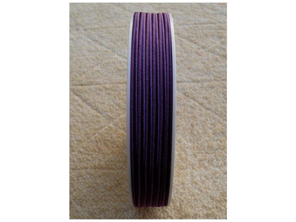 Sutaška 3 mm - č. 25 - tmavá fialová 4601