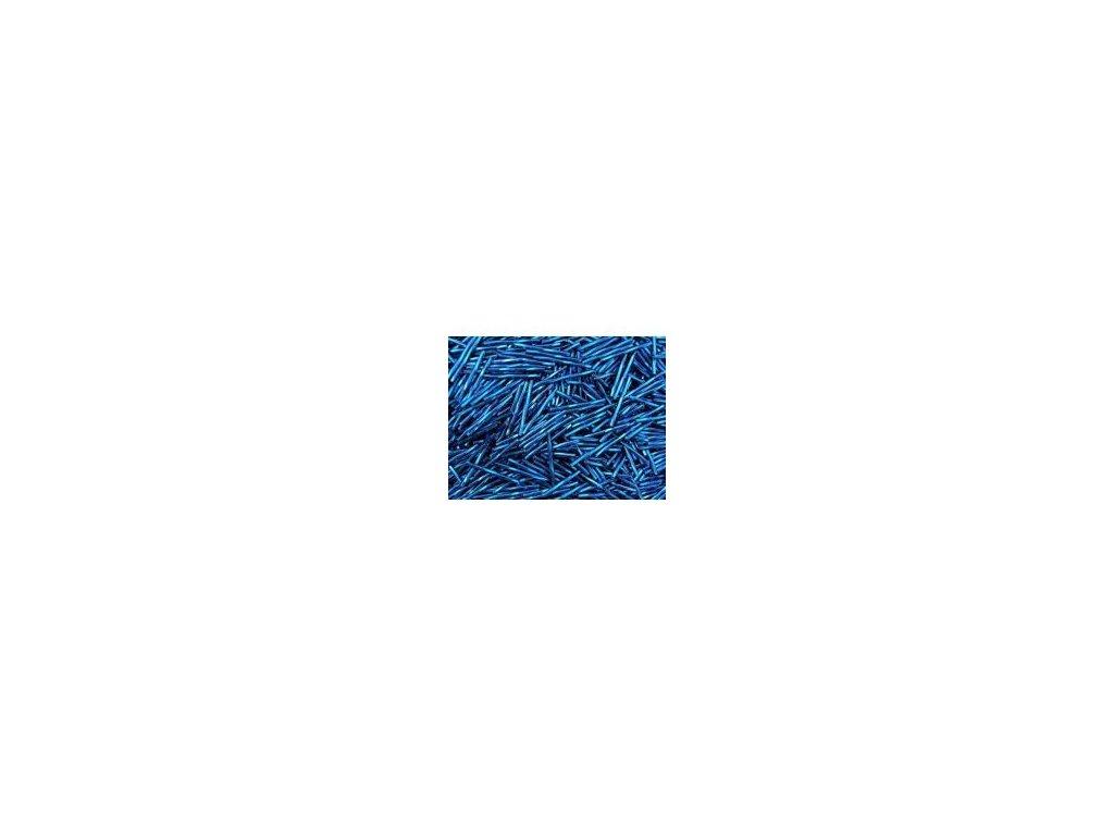 Korálky - rokajlové tyčky 25 mm - tmavě modré 67100 (T3)
