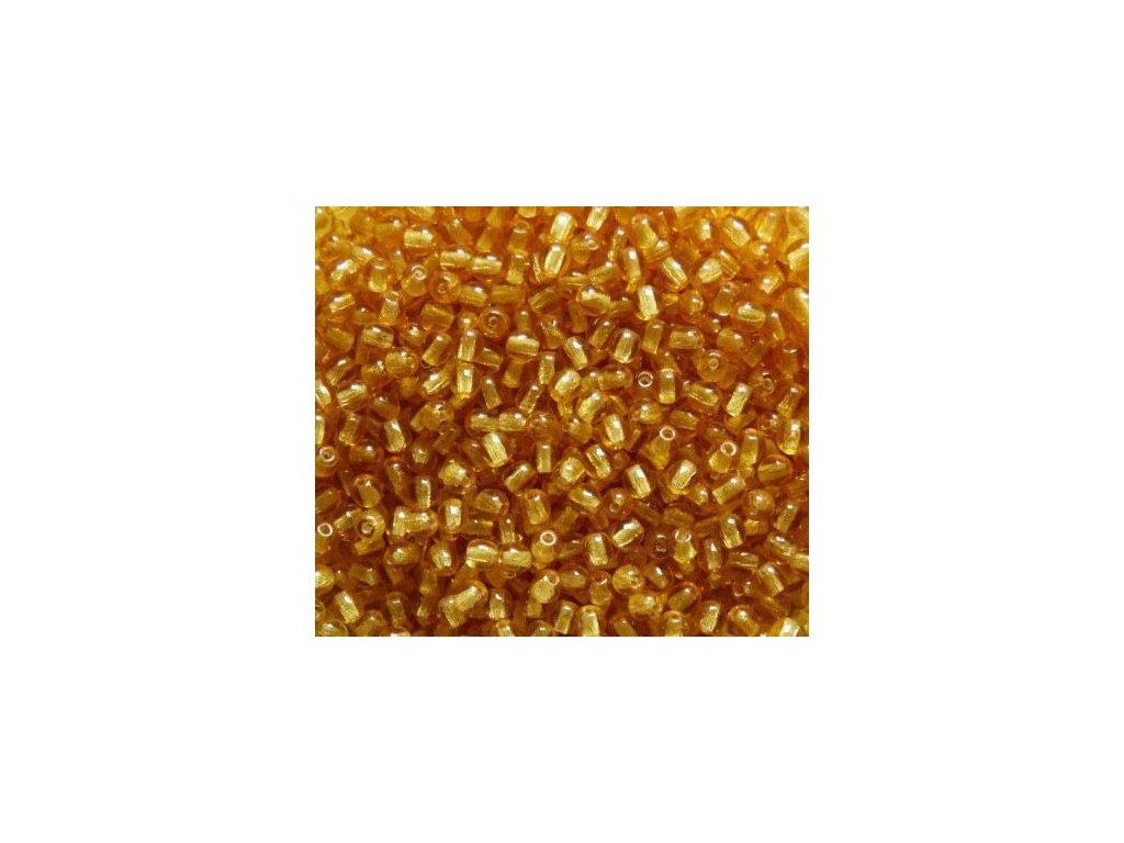 Korálky mačkané - kulička 6 mm - 10060 světle hnědá