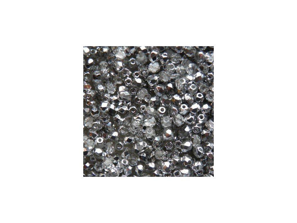 Korálky broušené - ohňovka 4 mm S00030