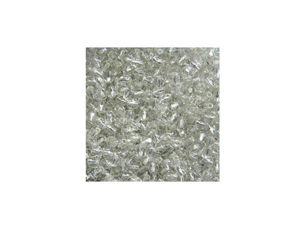 Korálky broušené - ohňovka 4 mm 00030/81800