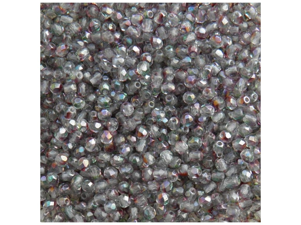 Korálky broušené - ohňovka 3 mm 00030/91006