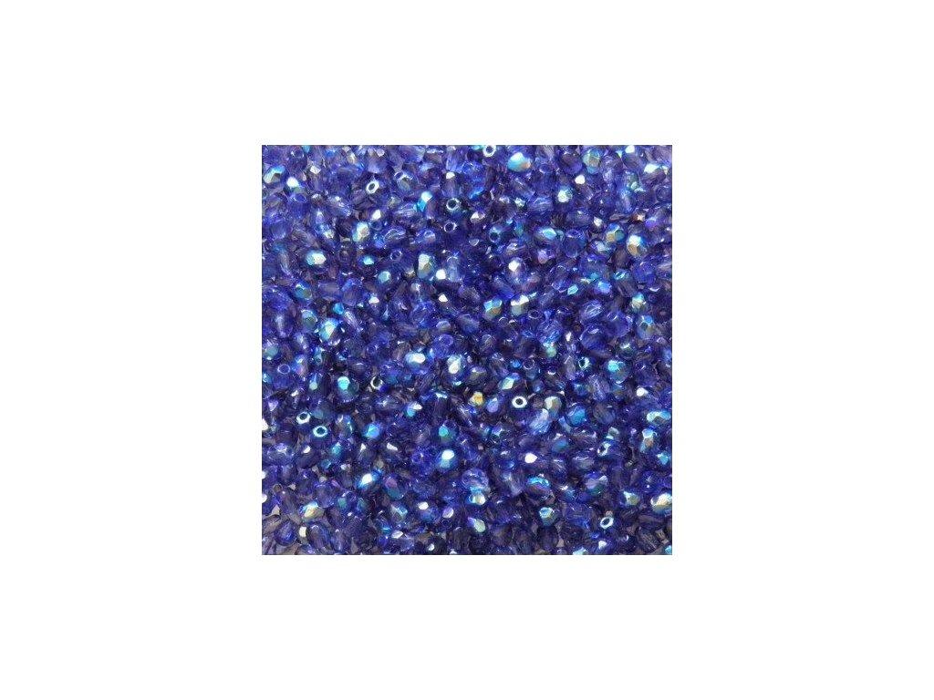 Korálky broušené - ohňovka 3 mm 30260/28701