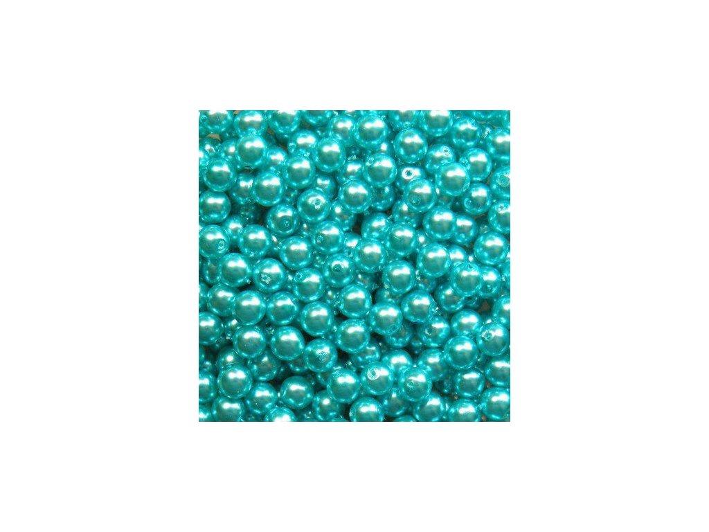Korálky - voskované perle (12385/2) 6 mm