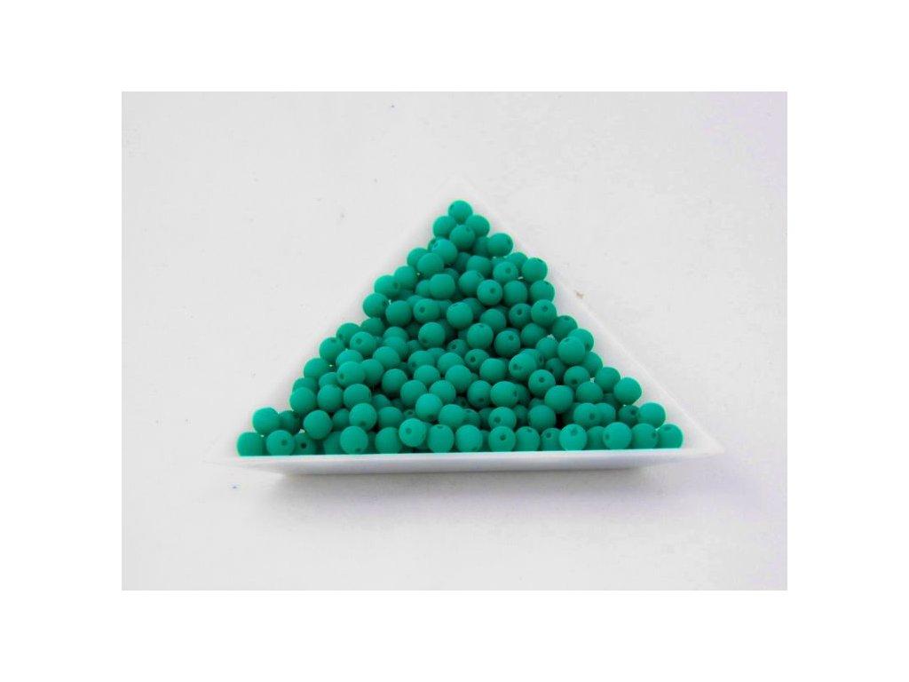 Korálky mačkané - NEON kulička 6 mm - 25128