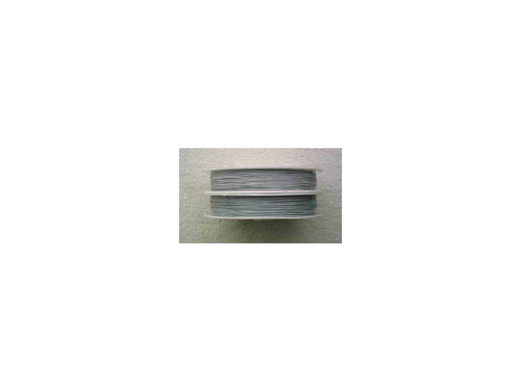 Nylonové lanko šedé - 0,38 mm