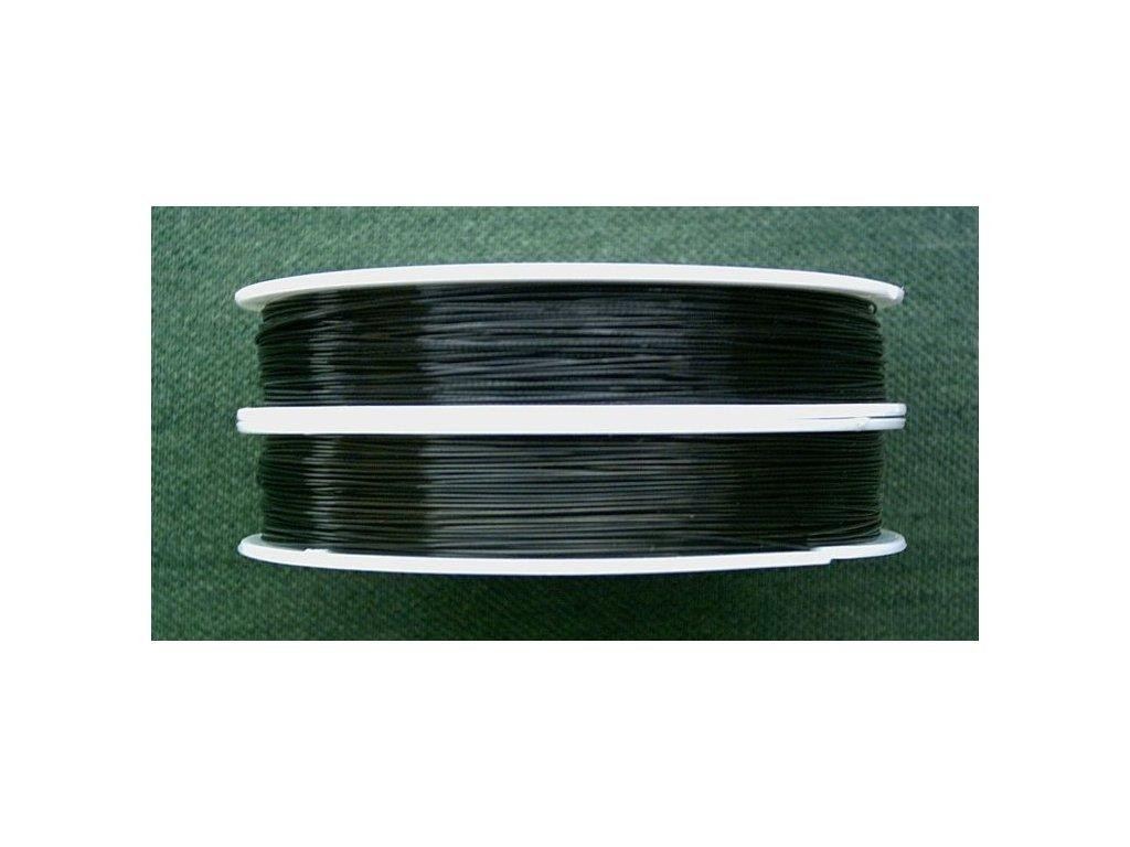 Nylonové lanko černé 0,38 mm