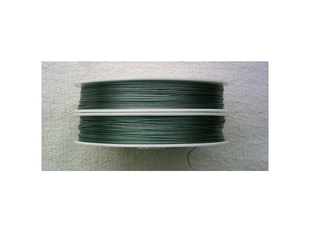 Nylonové lanko zelené - 0,45 mm