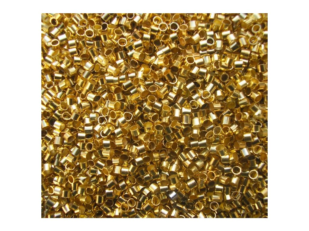Zamačkávací rokajl - sekaný 2,0 zlatý