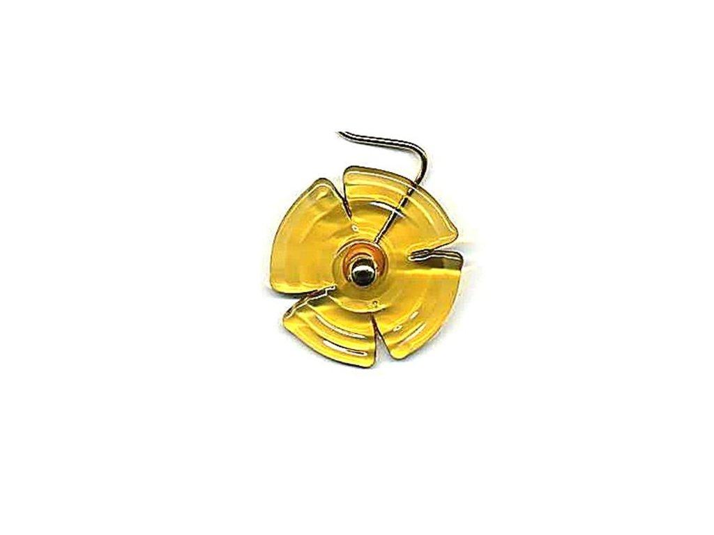 Vějířek stříhaný žlutý (čtyřlístek)