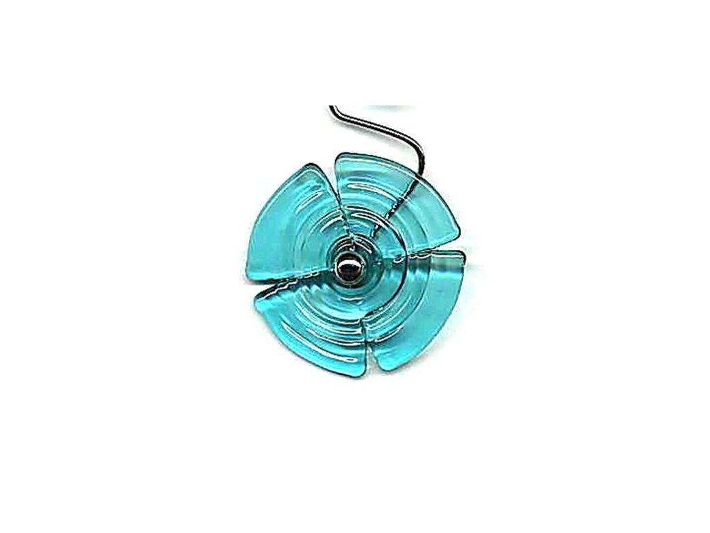 Vějířek stříhaný modrý (čtyřlístek)