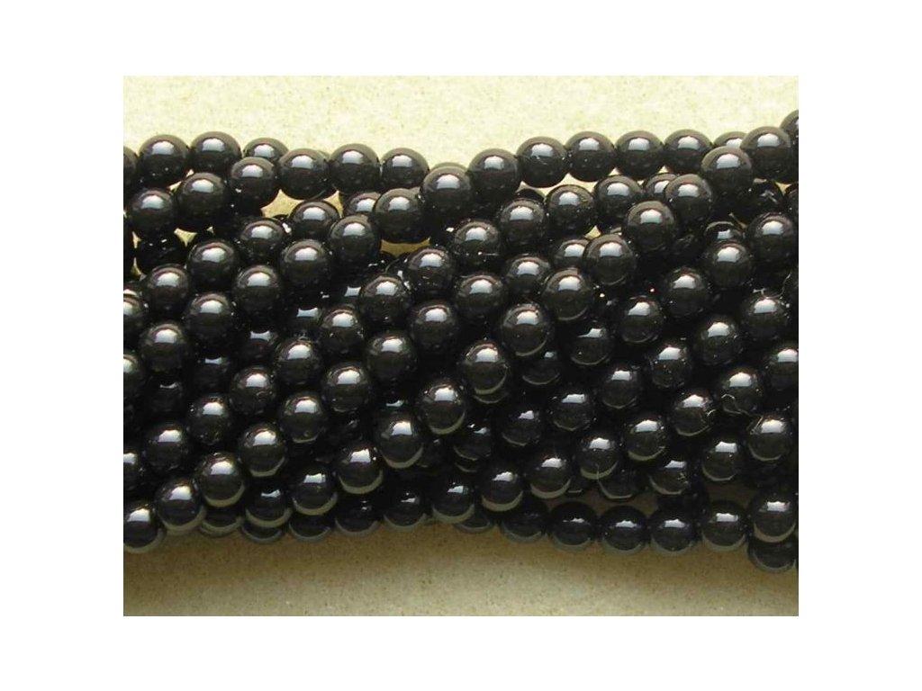 Korálky - voskované perle (70449) 5 mm