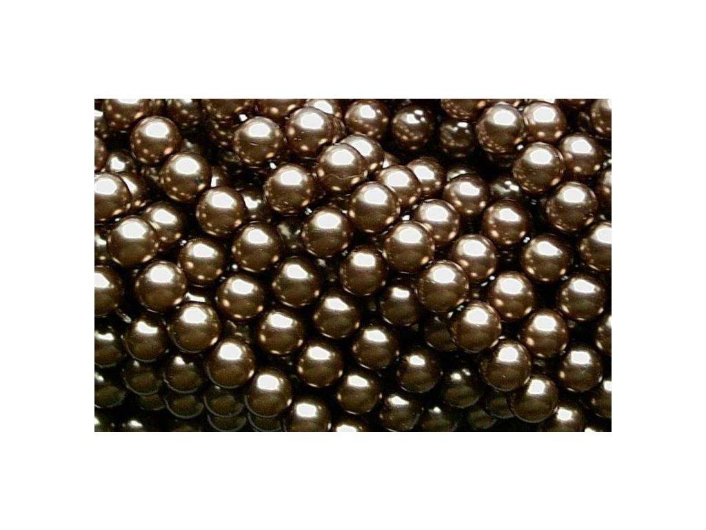Korálky - voskované perle (70816) 7 mm