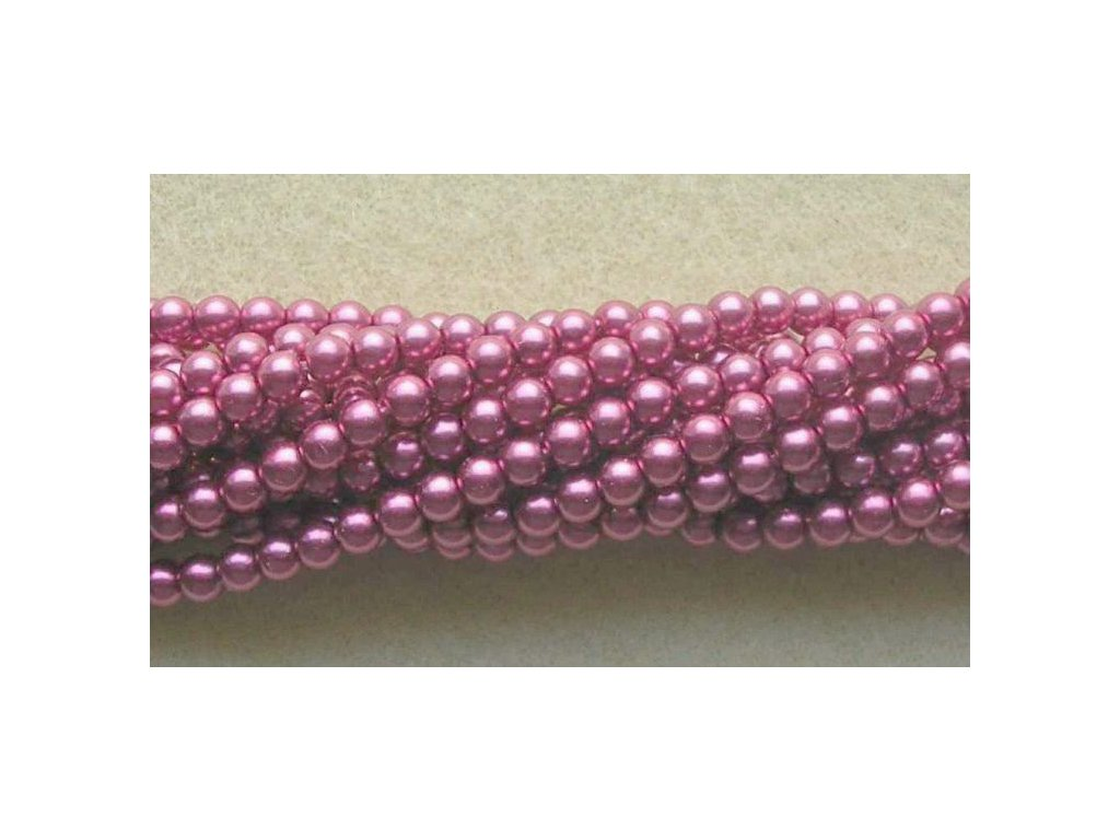 Korálky - voskované perle (70420) 7 mm
