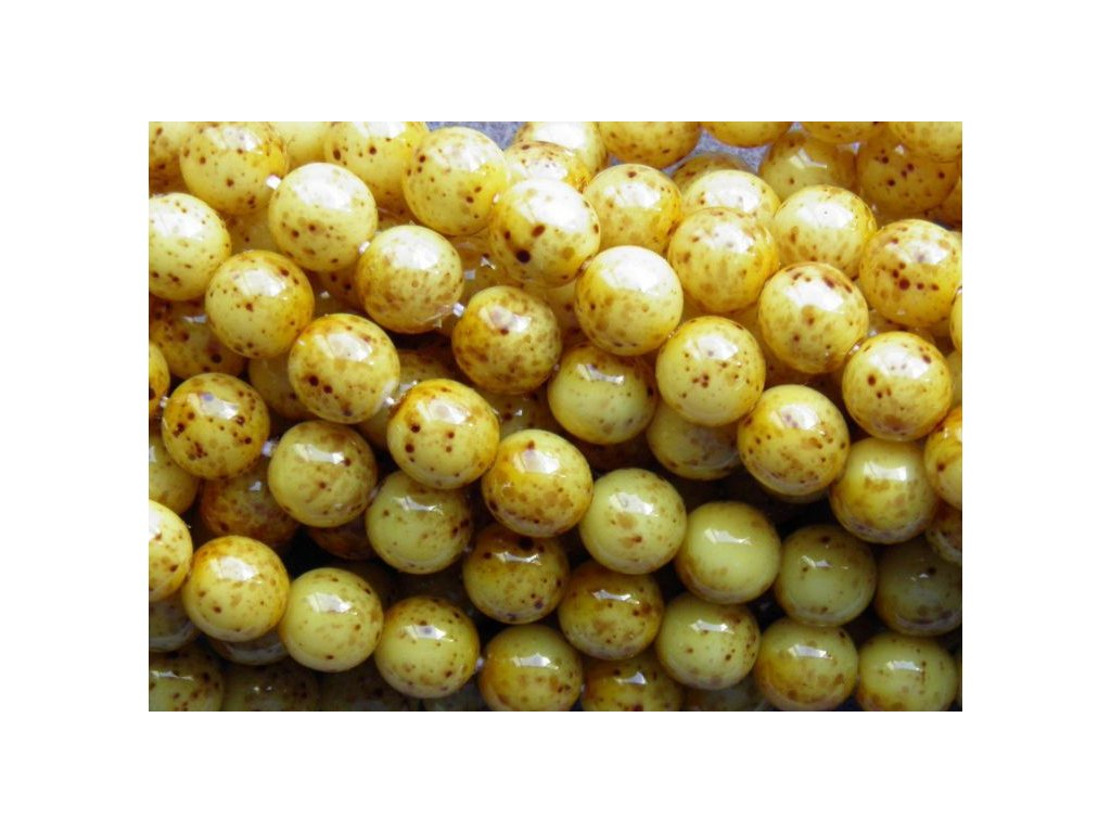 Korálky - voskované perle (41486) 8 mm