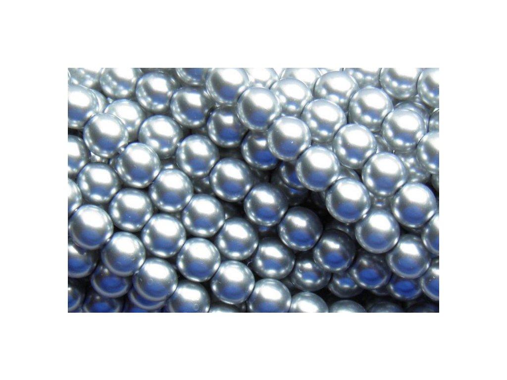 Korálky - voskované perle (70440) 5 mm