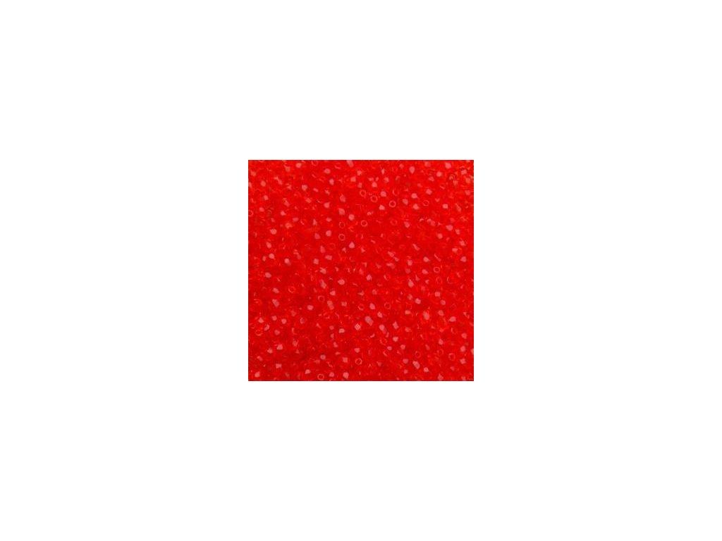 Korálky broušené - ohňovka 3 mm 90050