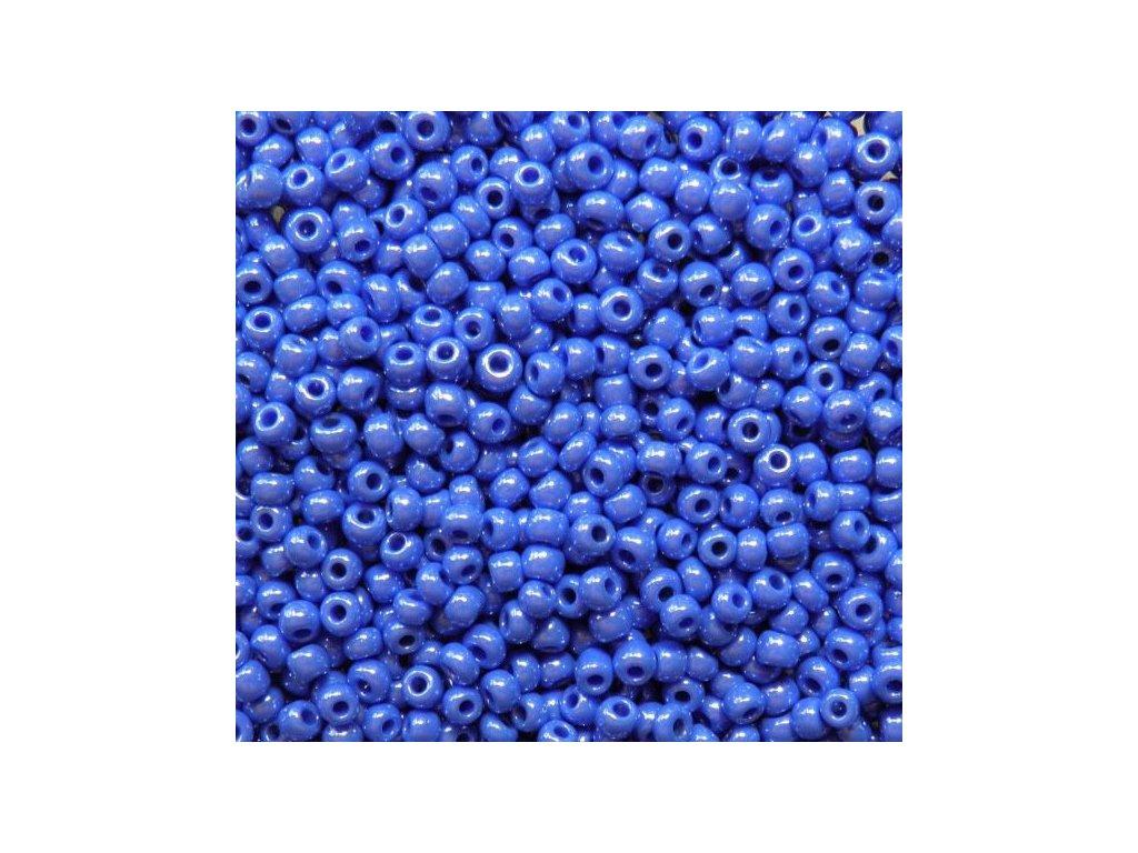 Korálky - rokajlové perličky 7/0 - tmavě šeříková