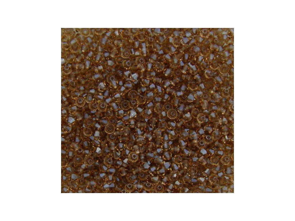 Korálky broušené - MC sluníčko 3 mm - 10220