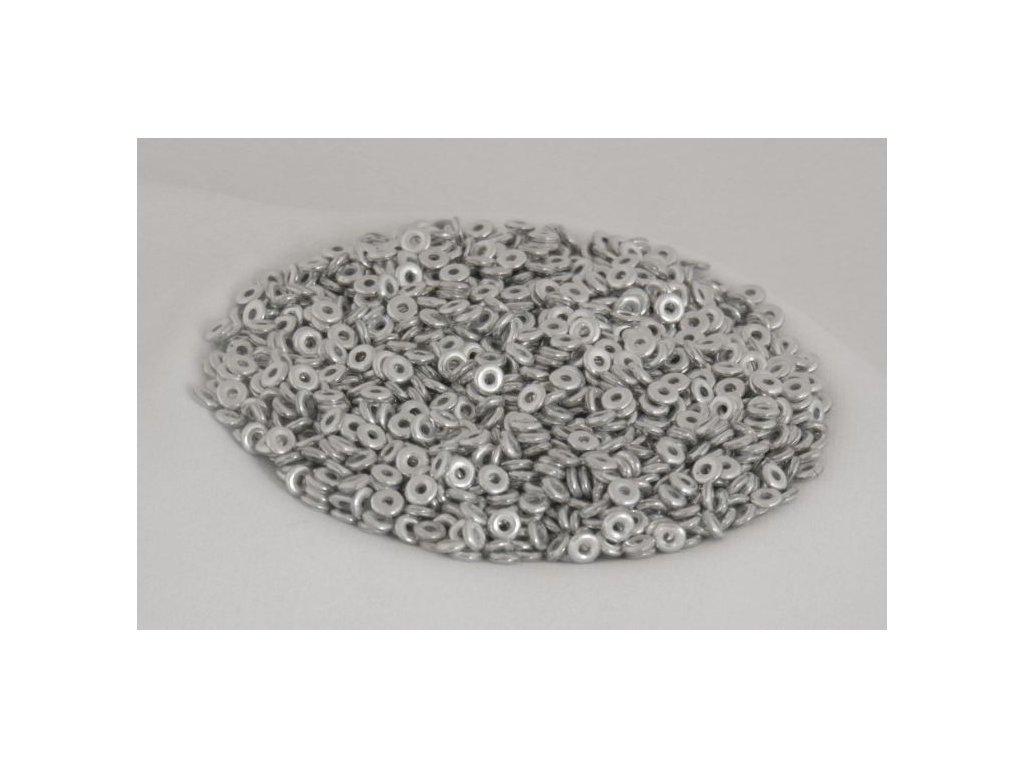 Korálky mačkané - kroužek 4 mm 02020/27000