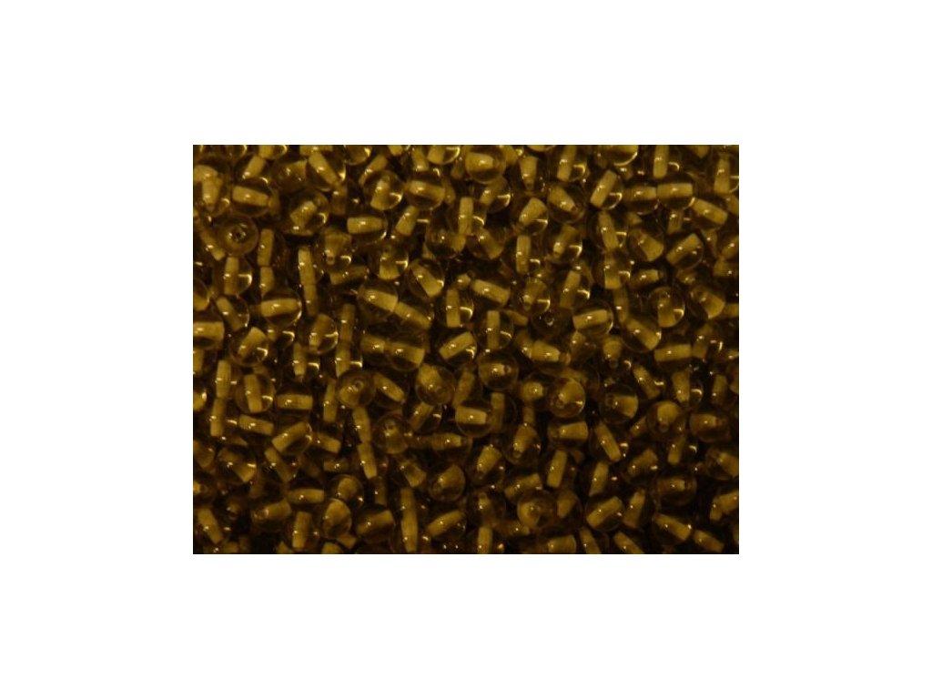 Korálky mačkané - kulička 6 mm - 40010 kouřová