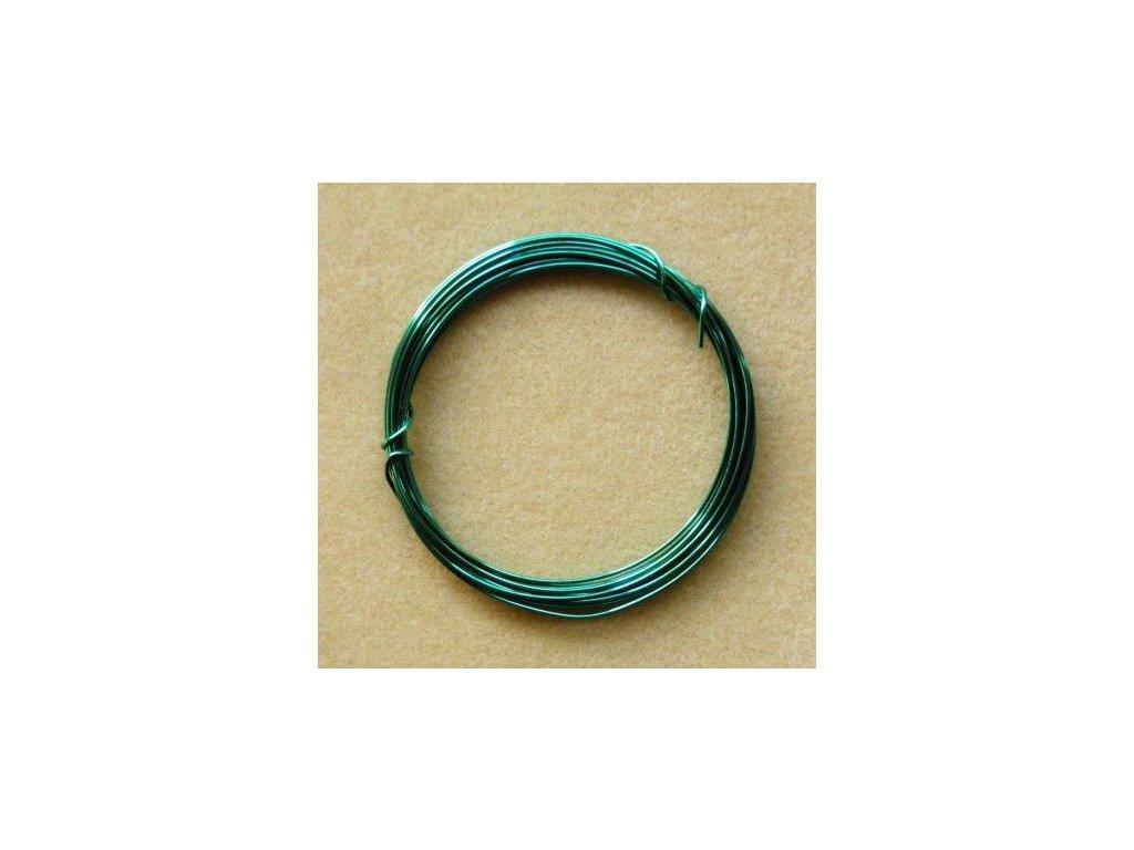 Barevný drátek 1 mm - barva mint
